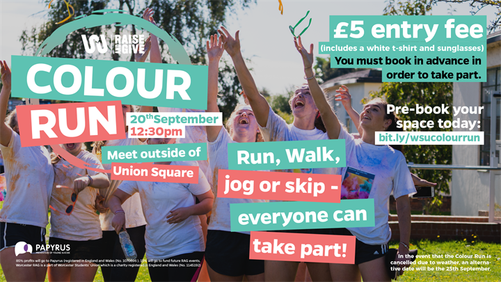 Colour Run / Worcester Welcome Week 2019