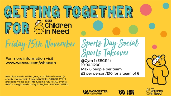 Sports Day: Social Sports Takeover | BBC Children In Need