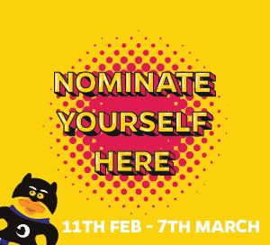 Nominate Yourself Here (9am Monday 19/02/2018 to 12 noon Thursday 01/03/2018