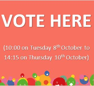 Nominate yourself here from Monday 23rd September-Thursday 3rd October