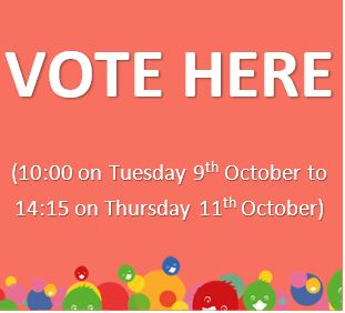 Nominate yourself here from Monday 24th September-Thursday 4th October